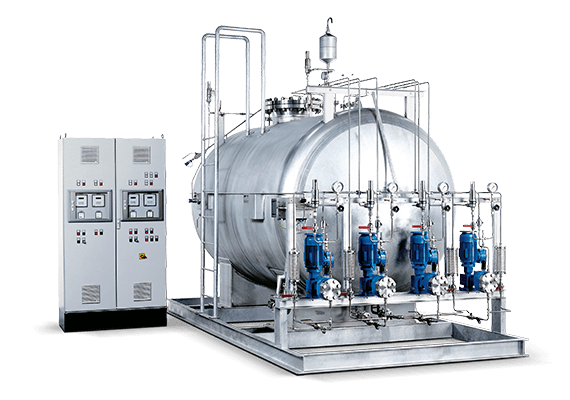 LEWA odorization system for gas odorization